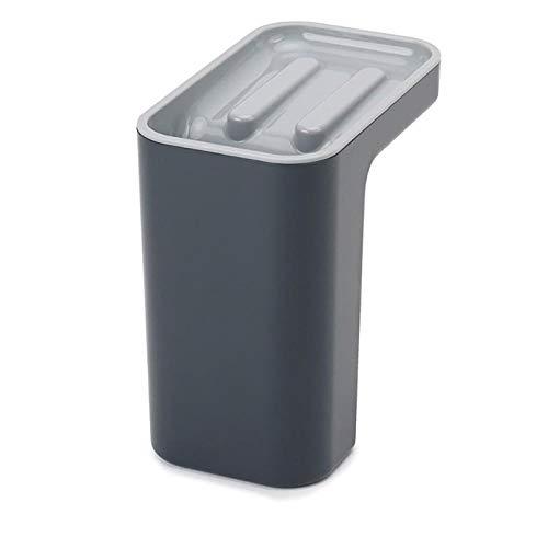 Estantes de utensilios de esponja de plástico caja de cocina escurridor plato auto drenaje fregadero almacenamiento rack cocina organizador soportes utensilios herramienta