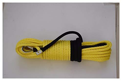 Corda per verricello giallo 3/8 '* 100 ft Corda per verricelli,Cavo per verricello di ricambio,Corda per fuoristrada da 3/8 ',,,,,,,,,,,,,,,,,,,,,,