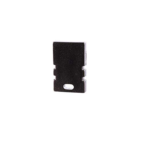 reprofil Accessoire pour LED Profil en H au Lot de 2 02–05 Embout, noir 979172