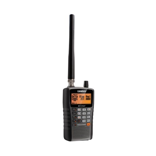 Uniden Bearcat BC125AT Handheld Scanner. 500 Alpha-Tagged channels....