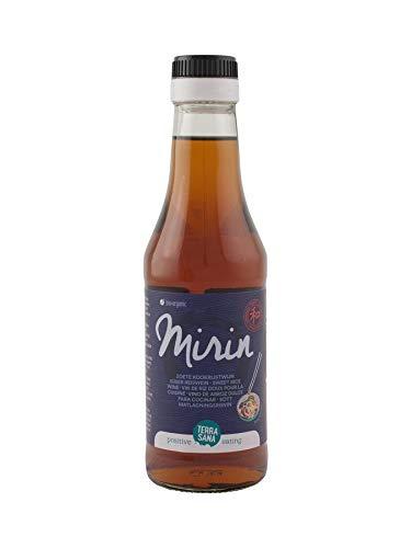 Terrasana Mirin Vino De Arroz Dulce Para Cocinar 250 Ml 250 Ml 250 ml