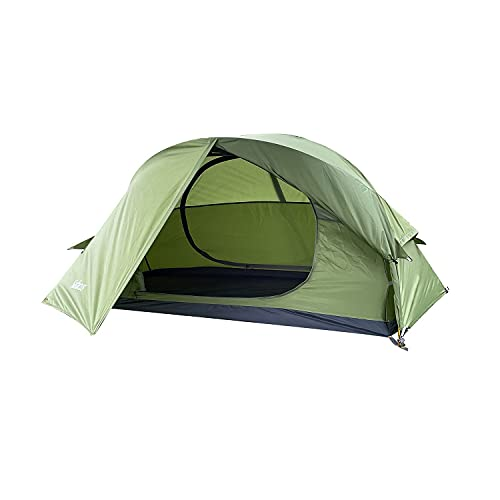 SAFACUS 1 Man Tent for Outdoor Backpacking, Lightweight Waterproof 1 Person...