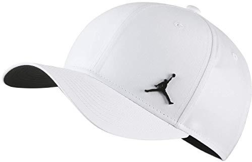 Nike Jordan CLC99 Metal Jumpman - Gorra, Unisex Adulto, White/Black, MISC