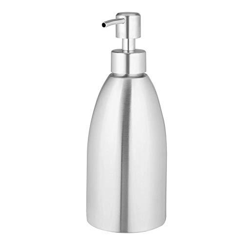 Vakind 500ml Edelstahl Seifenspender Bad Flüssigkeit Shampoo Behälterflasche,seifenspender mit Sensor,seifenspender automatisch wandmontage,Spülmittel Spender,desinfektionsspender Wand