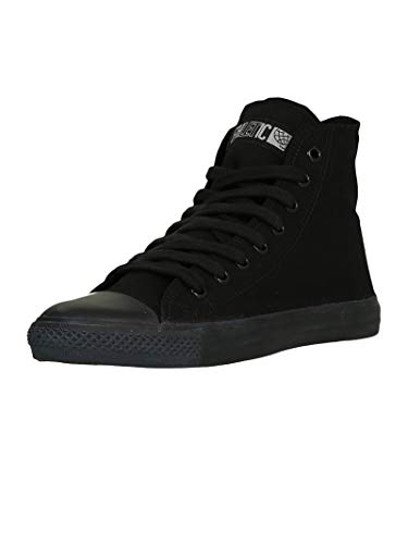 Ethletic Unisex Sneaker Hi Fair Trainer Black Cap Jet Black | Jet Black 41 Fair | Vegan | Nachhaltig