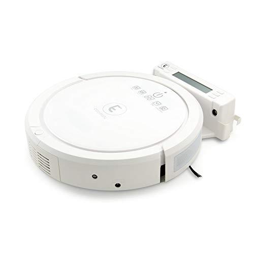 EXTEL EASYMATE FLOOR400, Autonomer Roboter-Staubsauger WLAN - für Flächen bis max. 120qm, mit UV Sterilisierung und Feucht wischen Funktion