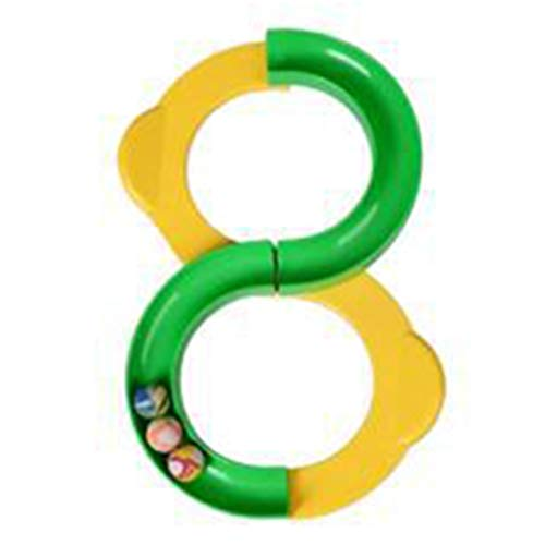 Rouku Plástico Divertido 88 Rail Track Ball Juguetes al Aire Libre Bola Educación para bebés Juguetes interactivos niños