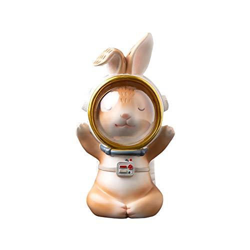 Spielzeug Ostern Raum Astronaut Hase Desktop Kleine Dekoration Raumdekoration Kreative Geschenkdekoration Bürodekoration Osterraum Astronaut Hase Desktop Dekoration Kreatives Geschenk