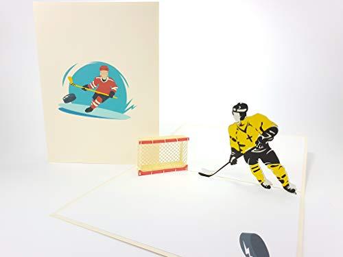 Hockey NHL, Sport, Golf Club, Landmark Pop Up Grußkarte Mercedes-Benz Auto Jahrestag Baby Happy Geburtstag Ostern Mutter Thank You Valentine 's Day Hochzeit Kirigami Papier Craft Postkarten