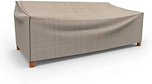 Mnjin Fundas para Muebles de jardín Funda para Muebles de ratán para jardín Funda para el hogar al Aire Libre Funda Impermeable y Resistente al Desgaste, 25 tamaños Funda para Muebles de jardín