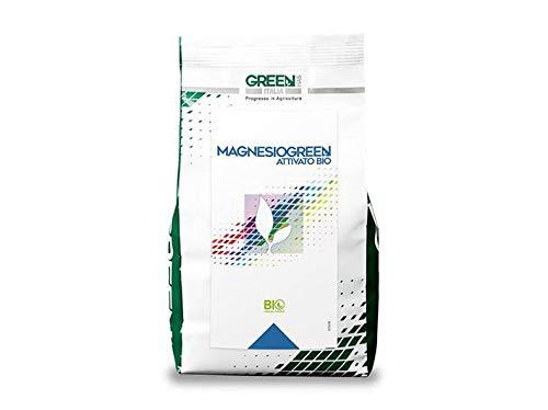 Magnesiogreen (Solfato di magnesio + microelementi) (5 kg), concime idrosolubile per piante e fiori