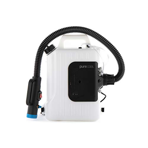 PURECODE Backpack ULV Mister Sprayer-10L Fogging Machine, Large Area Sterilization/Disinfection Suitable for Indoor and Outdoor Usage | Ideal for CDC | SHIPS FROM USA | NOT A CORDLESS UNIT |