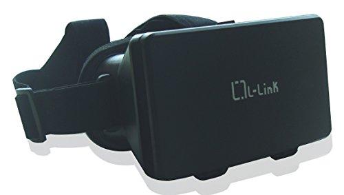 L-link LL-AM-117 - Gafas 3D para Smartphone, Color Negro