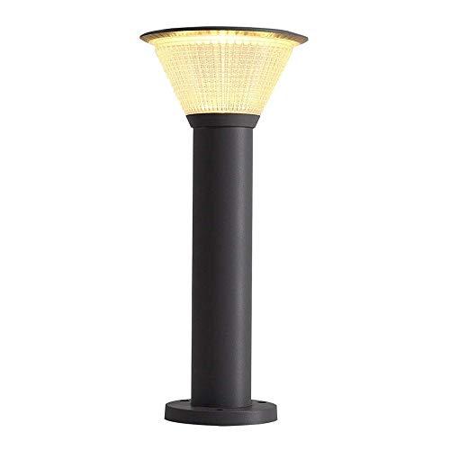KANULAN Lámparas de suelo Lámpara de pie para exteriores Lámpara de césped Nórdico Minimalista Jardín Exterior Lámpara de Paisaje Lámpara Parque (Tamaño: 60 cm)