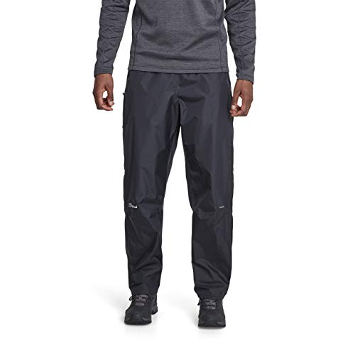 Berghaus Men's Deluge Pant, Black, X-Large/Short