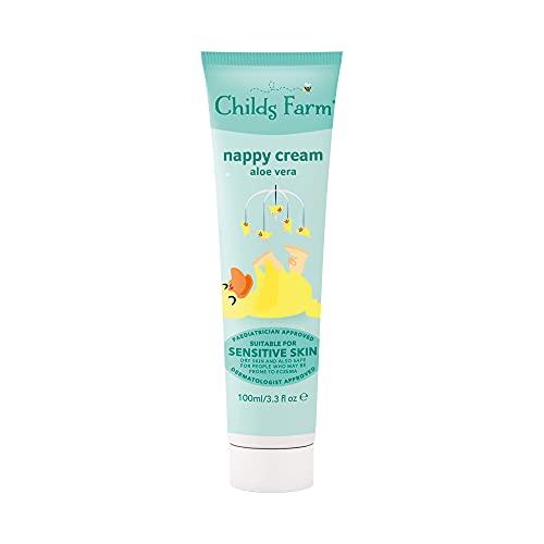 Child's Farm Nappy cream, unfragranced 100ml,,3.3 fl.oz
