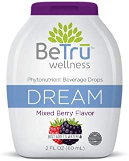 Be Trū Wellness™ Phytonutrient Dream Beverage Drops Blueberry Acai | All Natural, Non-