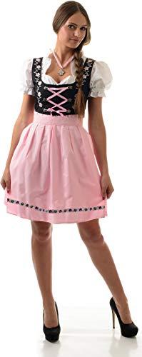 Almwerk Dirndl Mascha 3-TLG. Größe 38 Farbe pink