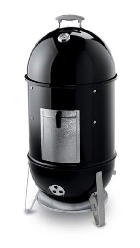 Weber 721004 Smokey Mountain Cooker Barbecue au Fumoir Noir Diamètre 47 cm