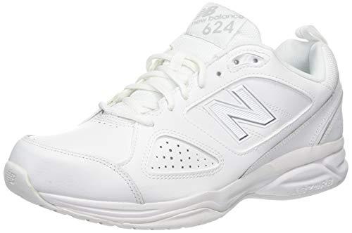 New Balance WX624WS4 - Zapatillas Mujer, color blanco, talla 41 EU (7.5 UK)