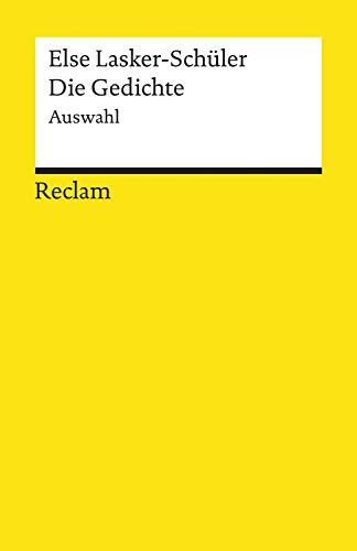 Die Gedichte. Auswahl: Reclams Universal-Bibliothek