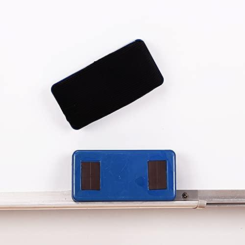 Borrador magnético 1 PC Franela magnética Borrador de plástico Marcador de plástico Blanco Tablero Limpiador de borrar Blackboard Limpie Oficina Escuela Suministro de papelería Removedor de manchas
