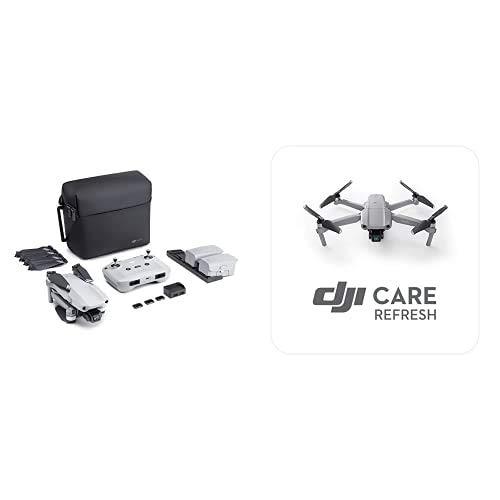 DJI Mavic Air 2 Fly More Combo Drone Quadcopter UAV con Telecamera 48MP 4K + DJI Mavic Air 2 Care Refresh