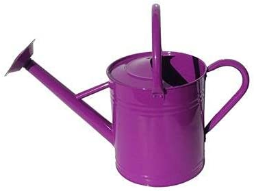 National uniform free shipping Metal Gardening Watering Can 7 Dark Max 48% OFF Cans Purple Liter