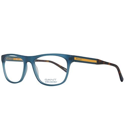 GANT GA3098 53091 Gant Brille Ga3098 091 53 Rechteckig Brillengestelle 53, Blau