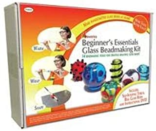 Diamond Tech Crafts Fireworks Beginner's Essentials Glass Bead Making Kit