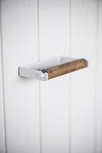IB Laursen - Toilettenpapierhalter, Klorollenhalter - Altum - Metall und Holz Look