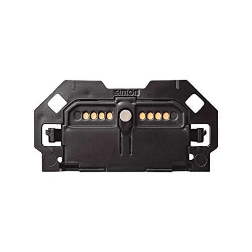 Pulsador electrónico con sistema de embornamiento a tornillo, serie 100, 2 x 5 x 4 centímetros, color negro (referencia: 10001150-039)