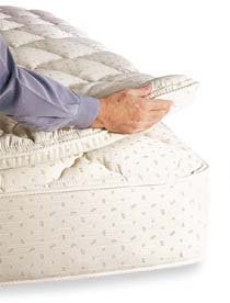 Hot Sale Royal-Pedic 3'' Pillowtop Mattress Pad, Queen Size