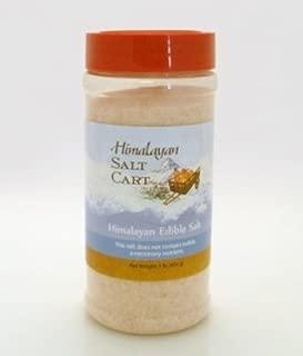1 lb HIMALAYAN PINK CRYSTAL SALT fine grind table jar shaker refill GRANULATED