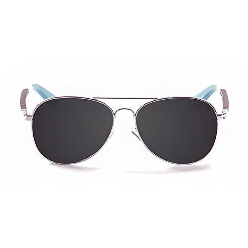 Ocean Ski zonnebril gepolariseerd San Remo (58 mm) zilverkleurig