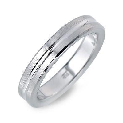 [フェフェ] ステンレス リング 指輪 ホワイト 19.0号 FE-142-19