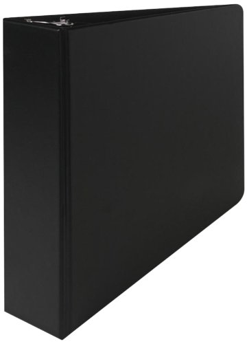 Sparco Vinyl D-Ring Binder, 2-Inch Capacity, 8-1/2 x 11 Inches, Black (SPR07501)