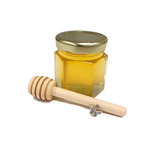20pcs Honey with Wooden Honey Dipper