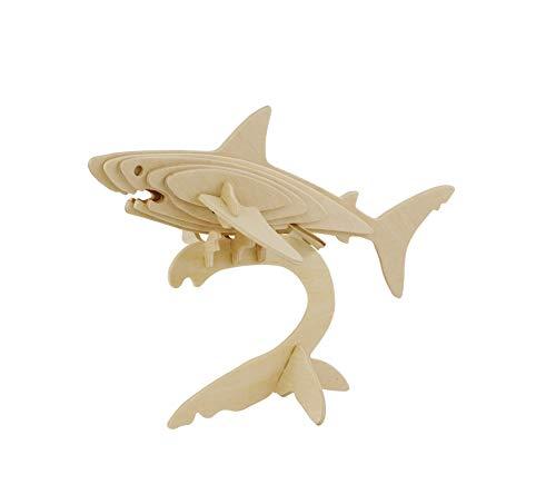 La Vida en Led 6 Puzzle Tiburón 3D para Pintar Grupos niños Invitados cumpleaños
