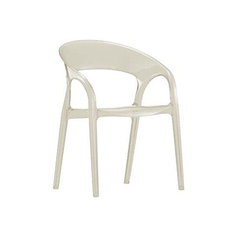 Pedrali Gossip stoel - wit - Claudio Dondoli e Marco Pocci - design - bureaustoel - eetkamerstoel - tuinstoel