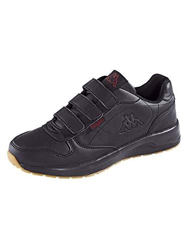 Kappa Unisex-Erwachsene Base VL Sneaker, 1111 Black, 42 EU