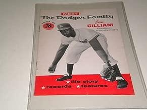 1960 DODGER FAMILY JIM GILLIAM BOOK,RARE !!