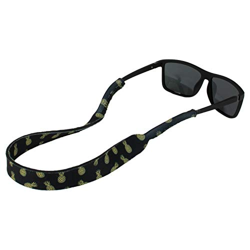 Ukes Premium Sunglass Strap - Durable & Soft Eyewear Retainer Designed with Floating Neoprene Material - Secure fit for Your Glasses and Eyewear. (The Pinas)