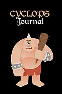 Cyclops Journal: Lined Journal for Writing, Doodling, Journaling, Office Work, Notes and School