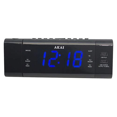 Akai 9204482   ACR-3888 Radiowecker mit Projektor