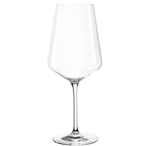 Leonardo 014790 Set 6 Bordeaux Puccini, Verre, Transparent, 6 Unité (Lot de 1)