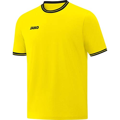 JAKO Kinder Shooting Shirt Center 2.0, citro/schwarz, XS, 4250