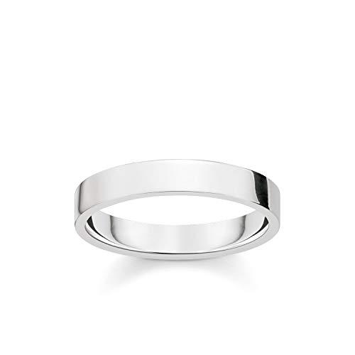 Thomas Sabo Herren-Ringe zum Jahrestag 925 Sterlingsilber mit \'- Ringgröße 64 TR2112-001-12-64