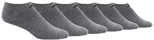 adidas Men's No Show Athletic Socks 6-pack