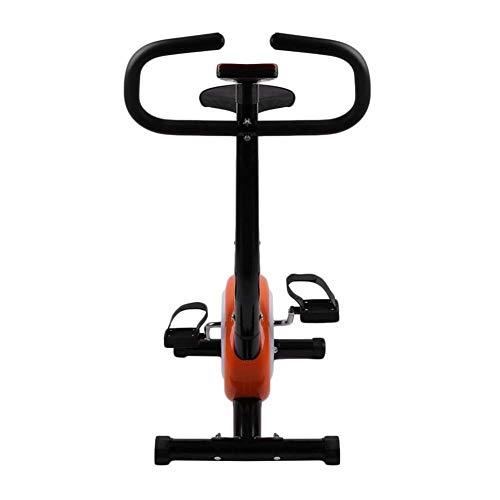 NFJ Heimtrainer, LCD-Display, Fahrrad Fitness Bike, Verstellbare Widerstandsstufen, Mit Handpulssensoren, Für Sportler Und Senioren